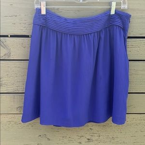 Ann Taylor Loft royal blue mini skirt